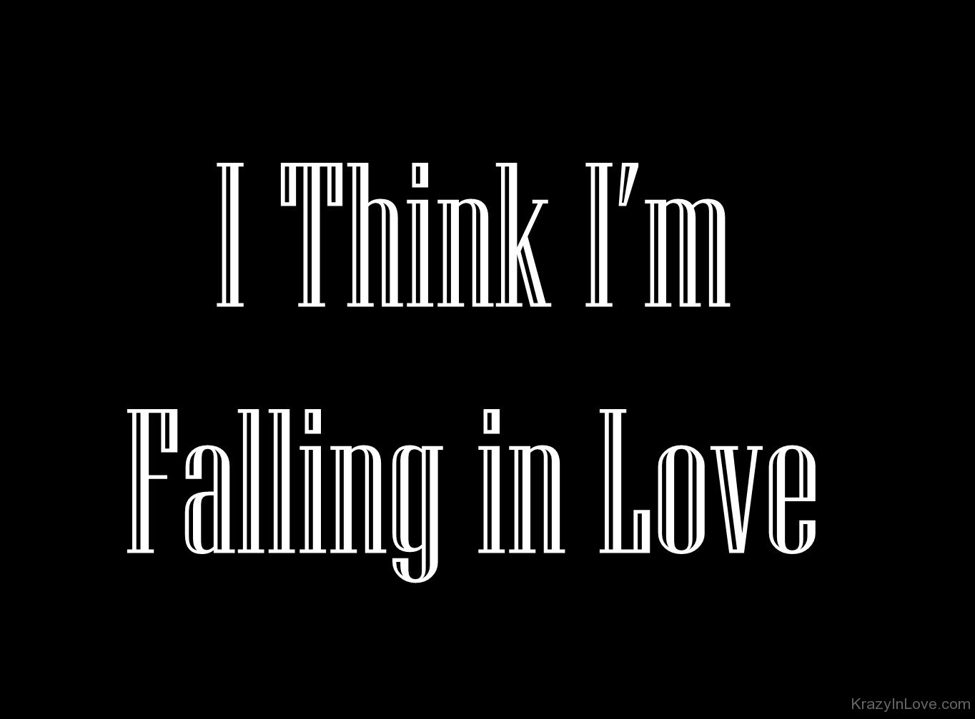How do i know if i am falling in love
