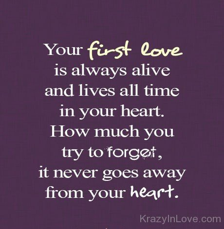 poems about your first love
