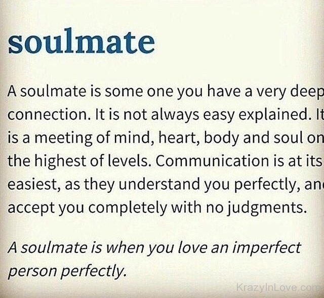 what is a sole mate