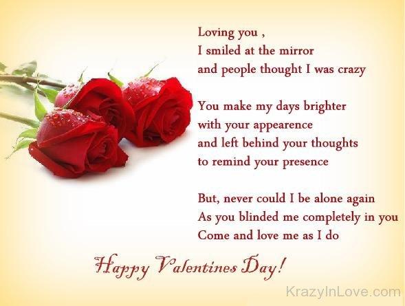 happy valentines day my hubby