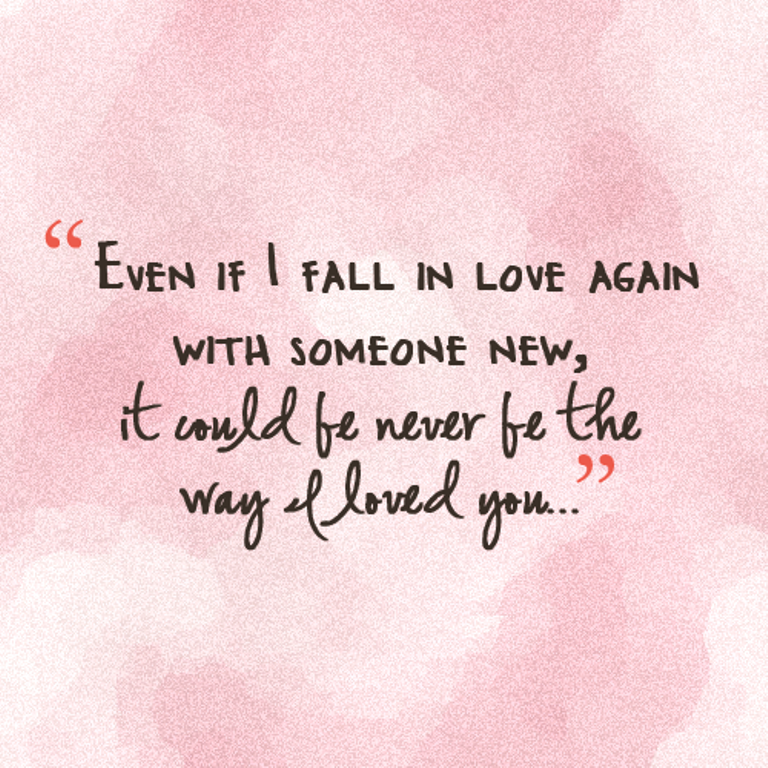 how to love someone again