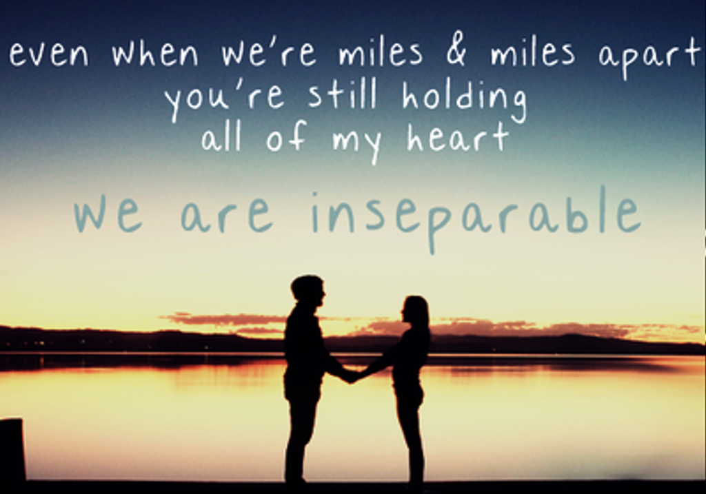 Even When We're Miles
