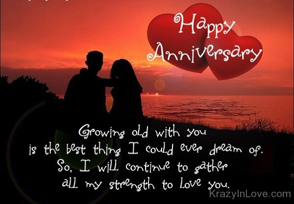 Growing Old With You Is The Best Thing I Could Ever Dream Of