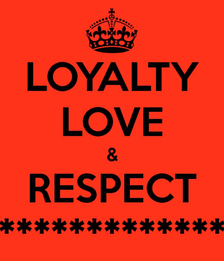 love and loyality Love and loyalty meyhem lauren produced by buckwild album silk pyramids love and loyalty lyrics [hook] yo, nigga you got me, yeah nigga i got you so you know i pop them before i.
