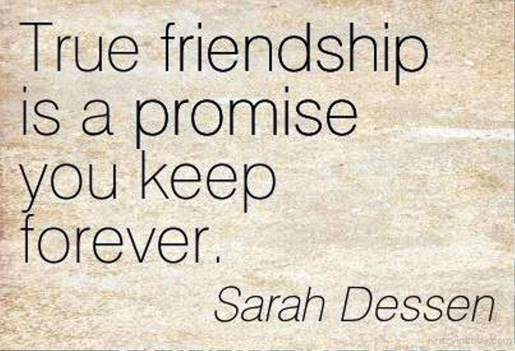 friendship promise quotes