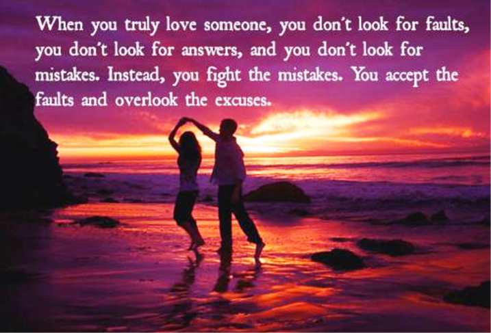 when you truly love someone