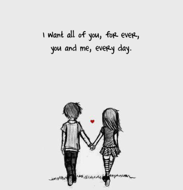 I Want All Of You,Forever You And Me