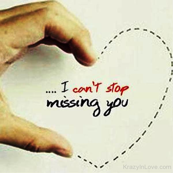 I Cant Stop Missing You