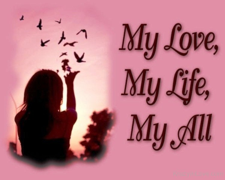 Let your love know that she is your life, love and best friend with this beautiful ecard.
