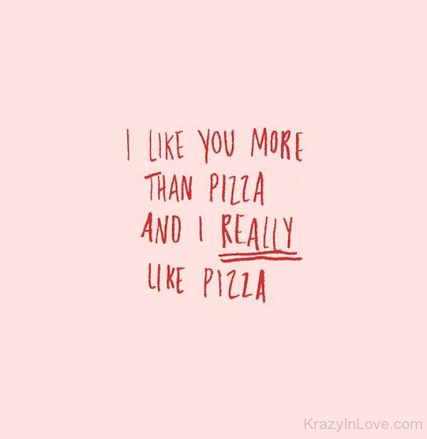 i like u more