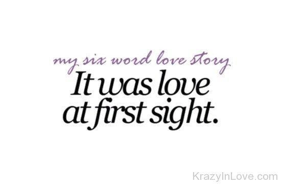My Six Word Love Story Wer