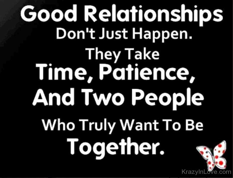 Good Relationships Quotes