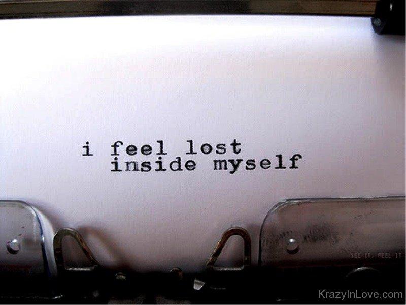 Feeling lost lyrics