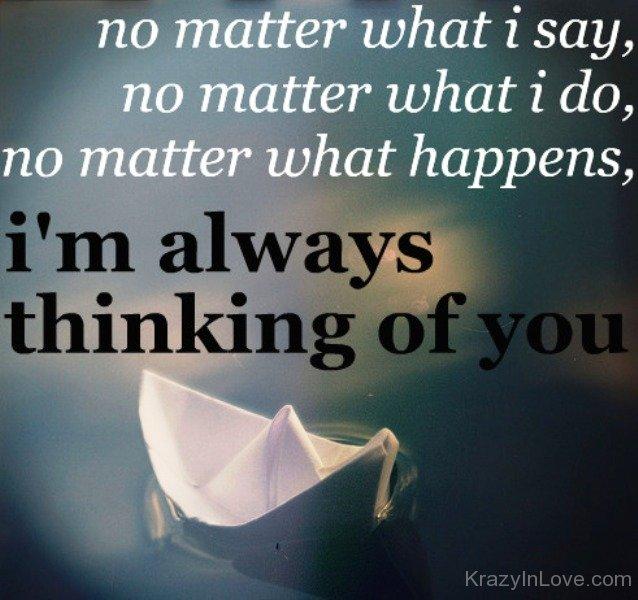 Im Always Thinking Of You