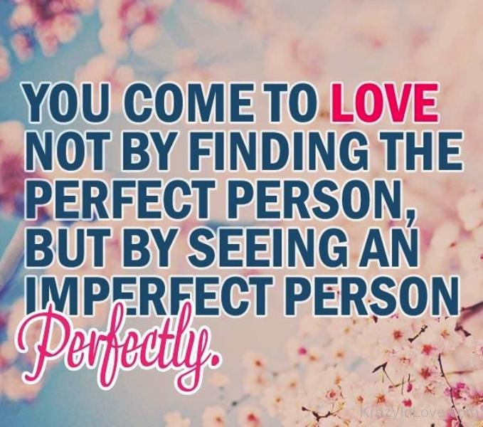 You Come To The Love Not By Finding