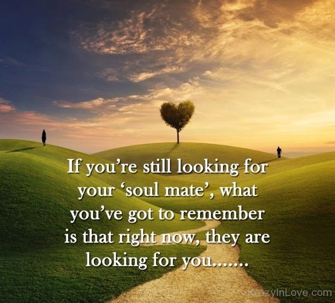 Looking for your soulmate