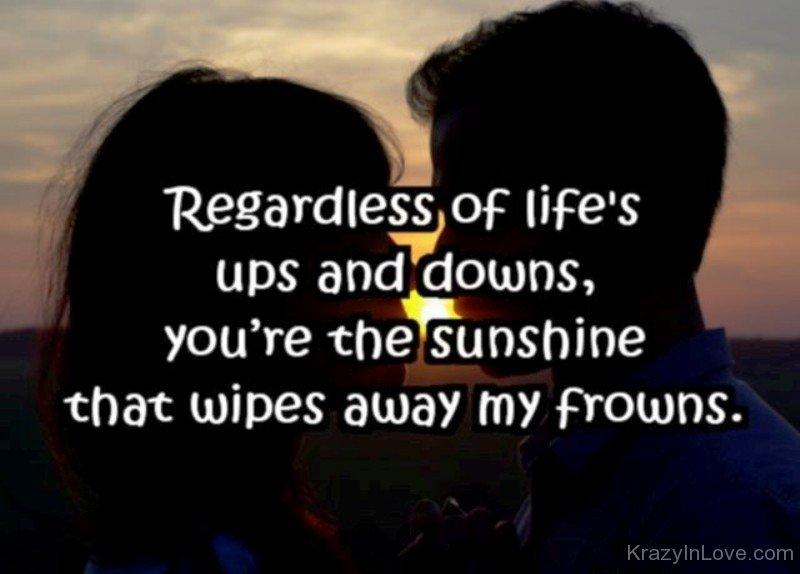 Regardless Of Lifes Ups And Downs Tgb67070
