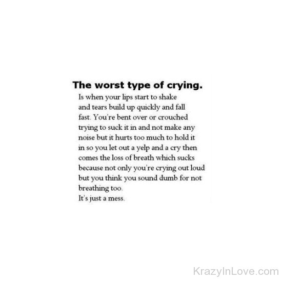 Sad Crying Images With Quotes: Love Pictures, Images