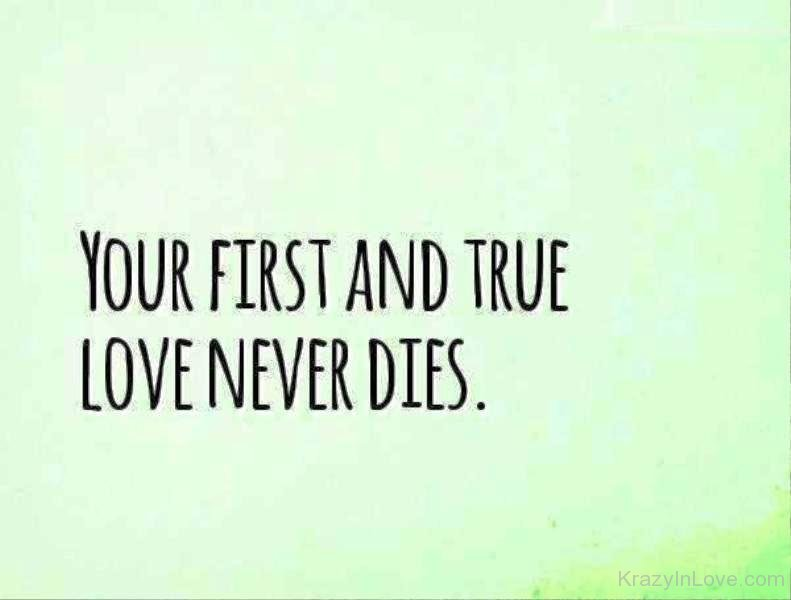 difference between first love and true love