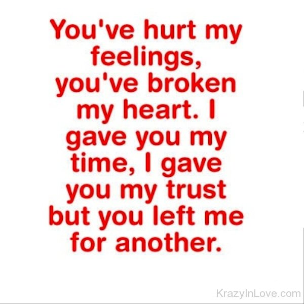 Hurt Quotes - Love Pictures, Images