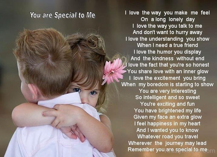 Remember You Are Special For Me