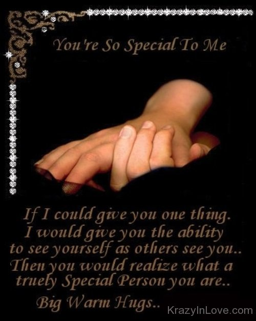 your so special to me quotes
